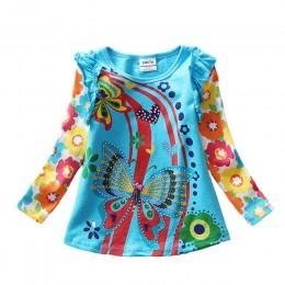 VIKITA koszulki z krótkim rękawem dla dzieci koszulka dla dzieci koszulka z długim rękawem dla dziewczynek topy koszulka dla dzi