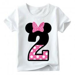 Dzieci chłopcy dziewczęta T-shirt na urodziny letnie ubrania dla dzieci śmieszne T Shirt Tshirt Tees topy rozmiar 1 2 3 4 5 6 7
