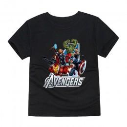 Little Bitty 2019 chłopcy koszulki T Shirt dziecko film ubrania z krótkim rękawem dzieci Avengers T-Shirt dziewczynek dzieci t-s