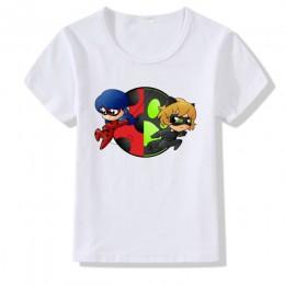 Modny nadruk kreskówkowy t shirt dziecięcy t-shirt z krótkim rękawem dla dzieci odzież dla dziewczynek letnie ubrania dla dzieci