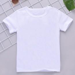 New Arrival T Shirt dziewczyna lato Vintage estetyka jednorożec dziewczyny T Shirt O-Neck z krótkim rękawem małe dziewczynki top