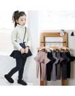 2019 Pure Color dziewczyny spodnie dzieci legginsy 2-10Y dzieci odzież jesień bawełniane legginsy ciepłe dziewczynka spódnica-sp