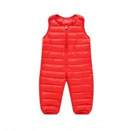 Spodnie zimowe dla dzieci w dół bawełniany śliniaczek dla dzieci kombinezony dla maluchów spodnie dla chłopców ciepłe spodnie dl