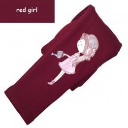 Dziewczęce legginsy na zimę pogrubienie ciepłe spodnie dziecięce długie spodnie dla dzieci kreskówki obcisłe ubrania zimowe Legg