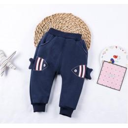 BibiCola nowe spodnie dla niemowląt grube zimowe spodnie dla dzieci dziecko Star spodnie dla dzieci legginsy dla dzieci grube ak