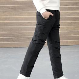 COOTELILI nastolatek dziewczyna chłopiec spodnie zimowe bawełna wyściełana gruba ciepłe spodnie spodnie narciarskie dziewczyny s