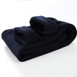 2019 nowe spodnie Grils dzieci zimowe grube ciepłe spodnie dziewczyny legginsy ciepłe w pasie bawełniane legginsy spodnie dziewc