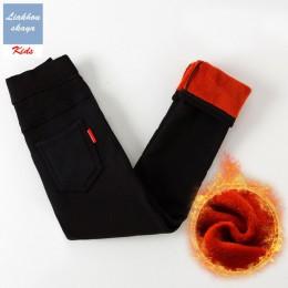 Liakhouskaya w nowym stylu legginsy dla dziewczynek 2018 zimowe dzieci oraz aksamitne spodnie długie spodnie dla dzieci dziecko