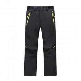 Marka wodoodporna wiatroodporna chłopcy dziewczęta spodnie dziecięca odzież wierzchnia ciepłe spodnie sportowe spodnie do wspina