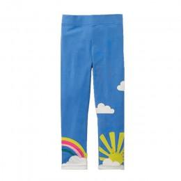 Skoki metrów dziewczynek legginsy nowa dziewczyna bawełniane spodnie dla dzieci spodnie gorąca sprzedaży wzór jesień dzieci ubra