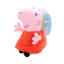 Oryginalny 19cm świnka Peppa George pluszowe zwierzaki zabawki kreskówka przyjaciel rodziny świnia Party lalki dla dziewczyny pr