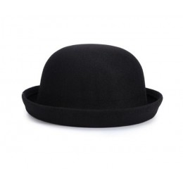 Detaliczna mała dziewczyny kapelusz fedora nasadka kopułkowa sukienka dla dzieci czapki czapki dla dzieci kapelusze filcowe do f