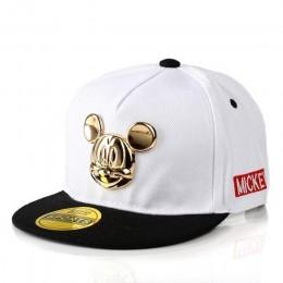 2019 wiosna lato Gorras 100% bawełna Pu skórzana czapka z daszkiem dla dzieci dziecko kapelusz hip-hop chłopcy dziewczęta Snapba