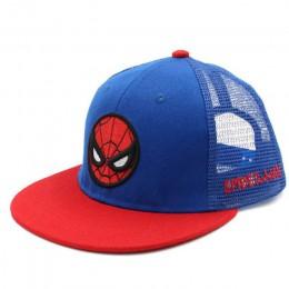 Doitbest dzieci czapka bejsbolówka w stylu hip-hop kapitan Spiderman letnie dzieci kapelusz słońce chłopcy dziewczęta mesh czapk