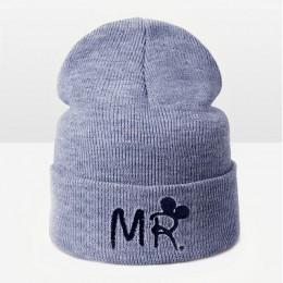 TRUENJOY moda czapka zimowa ciepła czapka zimowa z dzianiny dla dzieci kapelusz Skullies czapki dla dzieci marka chłopiec dziewc