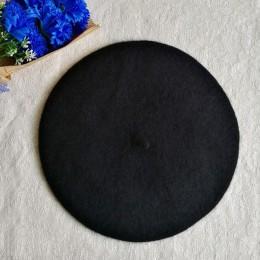 Moda dla dzieci dzieci Unisex imitacja wełny ciepły Beret czapka typu beanie czapka jesień czapki zimowe prezent-mx8