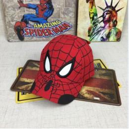 Czapka dziecięca Spiderman Cartoon dzieci haft bawełna Baseball chłopiec dziewczyna czapka hip-hopowa Spiderman cosplay kapelusz