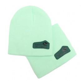 czapka zimowa cukierki kolor beanie ciepła kapelusz bawełniana czapka z dzianiny dla dzieci kreskówki dla dzieci Skullies