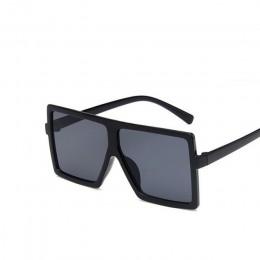 Oversize kwadratowe okulary przeciwsłoneczne dla dzieci dziewczęta dziecięce chłopcy festiwal punkowe okulary przeciwsłoneczne U