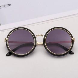 Iboode Retro okulary przeciwsłoneczne dla dzieci 2019 dziewczyny okrągłe gogle cukierki kolorowe szkła okulary 2019 nowe okrągłe
