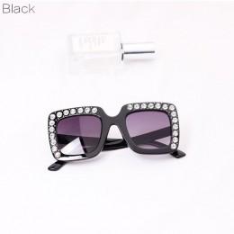 KOTTDO luksusowe Rhinestone Okulary przeciwsłoneczne dla dzieci kwadratowe Okulary przeciwsłoneczne dla dzieci Okulary przeciwsł