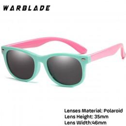 18 kolor moda dzieci okulary chłopcy dziewczęta dzieci polaryzacyjne okulary przeciwsłoneczne TR90 silikonowe okulary ochronne o