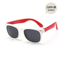 Dzieci nit klasyczne TAC spolaryzowane okulary TR90 elastyczna rama bezpieczeństwa chłopiec dziewczyna marka projekt stylowe akc