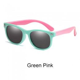 Ralferty okulary przeciwsłoneczne dla dzieci spolaryzowane (5% zniżki na zamówienie dowolne 2) TR90 elastyczna ramka UV400 różow