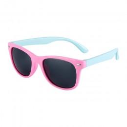 Elastyczne okulary przeciwsłoneczne dla dzieci spolaryzowane dziecko dziecko powłoka ochronna okulary UV400 okulary odcienie nie