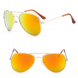 RBROVO 2019 klasyczne okulary przeciwsłoneczne dziewczyny kolorowe lustro dzieci okulary metalowa rama dla dzieci na zakupy podr
