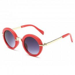 KOTTDO okrągłe piękne okulary przeciwsłoneczne dla dzieci dziewczyny gogle okulary ochronne dla dzieci okulary óculos Infantil a