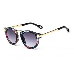 Dzieci stylowe okulary przeciwsłoneczne cat Eye Vintage odcienie okulary studenci dziewczyny dzieci Party okulary rodzinne okula