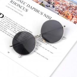 Elbru okrągłe okulary przeciwsłoneczne dla dzieci oprawki do okularów w stylu retro dzieci okulary przeciwsłoneczne dla chłopców