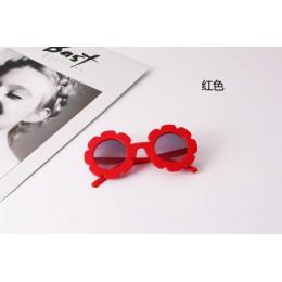 Gorący słonecznik okrągły śliczne okulary przeciwsłoneczne dla dzieci UV400 dla chłopca dziewczyna piękne okulary dla dzieci dzi