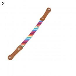 SANWOOD dzieci dzieci klamra darmowa elastyczny pas rozciągliwa talia regulowany pasek dla chłopca dziewczyna modne w paski pasy