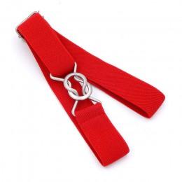 Darmowa wysyłka cukierki kolor paski 1 Cal szeroki dzieci dzieci elastyczny pas biodrowy dla chłopców dziewcząt