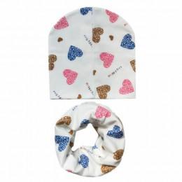 Nowa jesienno-zimowa dla dzieci zestaw kapeluszy dla dzieci chłopcy dziewczęta szalik wiosna ciepły szalik dla dzieci czapki zes