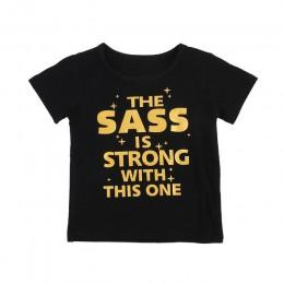 Babyinstar dzieci t-shirty dla dziewczynek kostium z okazji urodzin dziewczyny topy odzież dla dzieci chłopiec T Shirt marka dzi
