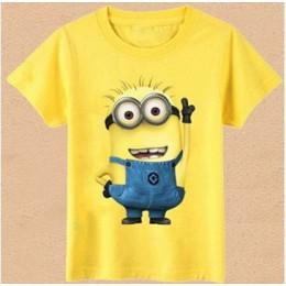Moda chłopcy dziewczęta T Shirt Cartoon dzieci ubrania Tee t-shirt Top w stylu casual, letnia odzież Cartoon Boy Girls Clohtes