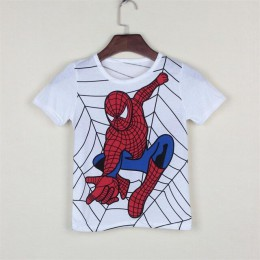 Nowy 2018 chłopięcy t shirt popularny bohater bawełny z krótkim rękawem t-shirt drukowanie dziecięcy cartoon szary dzieci chłopc