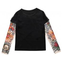 Gorąca sprzedaż nowe dzieci dziewczynek chłopców popularny bohater koszulka z długim rękawem dla dzieci topy, bawełniane bluzki