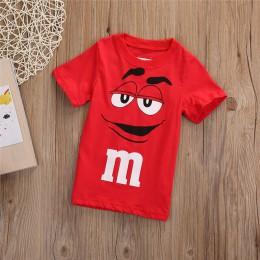 W nowym stylu mody spersonalizowane kreskówki chłopiec dzieci ubrania Tee t-shirt Top w stylu casual, letnia odzież dla dzieci w