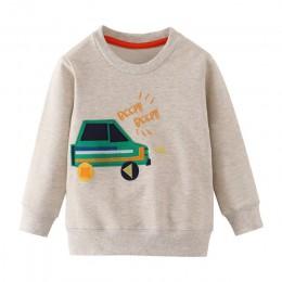 Skoki metrów nowe gwiazdy bluzy dziecięce chłopcy dziewczyny znosić bawełna odzież moda dla dzieci w stylu topy jesień wiosna ko
