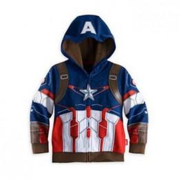 Nowe koszulki dziecięce Avengers Iron Man Thor dziecko chłopcy bluzy odzież płaszczyk dziecięcy dla chłopca kostium spidermana d