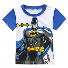 2019 chłopcy T-shirt ubrania dla dzieci letnie topy Spiderman T shirt Enfant kostiumy dzieci Tshirt Koszulka chłopiec t-shirty d