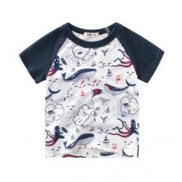 2019 przystojny dziecko krótkie rękawy bawełniane ubrania letnie ubrania dla dzieci chłopiec nastoletnie ubrania