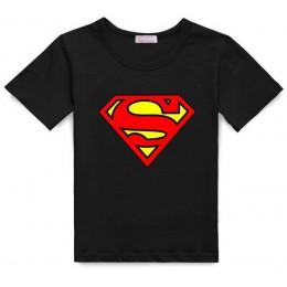 2019 bawełna dziecięce chłopięce Superman t-shirt dziecięce koszulki kostium Top letnia moda bebe ubrania 2-7 lat
