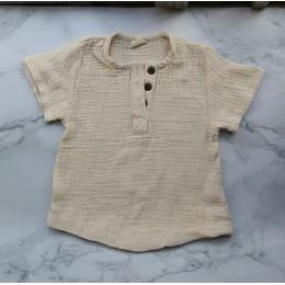 2020 Girls Tshirts Kids Cotton Clothes koszulki dziecięce dla chłopców t-shirty candy jednolita, krótka rękaw summer Tops linen