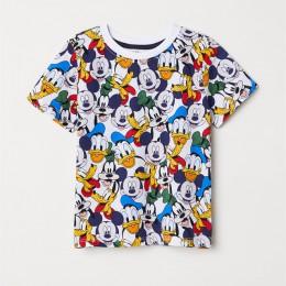 Jargazol maluch dziewczynka chłopiec T Shirt vêtement Enfant Fille kreskówka myszka miki drukowane koszulki z krótkim rękawem Ca