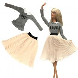 NK Mix Style sukienka księżniczki dla lalki moda z najwyższej półki stroje spódnica odzież szyta ręcznie na akcesoria dla lalek